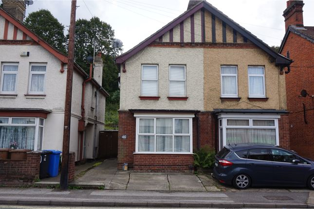 Thumbnail Semi-detached house for sale in Burrell Road, Ipswich