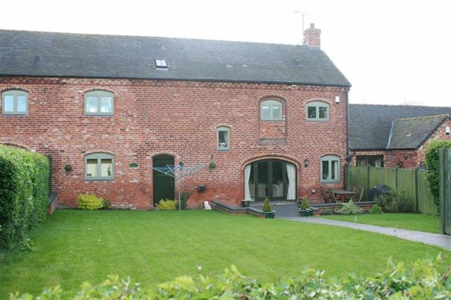 Thumbnail Barn conversion for sale in Heath House Farm, Bent Lane, Church Broughton, Derbyshire