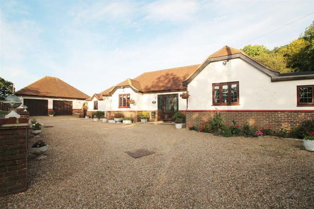 Thumbnail Bungalow for sale in Croftside Cottage, Manor Road, Lambourne End