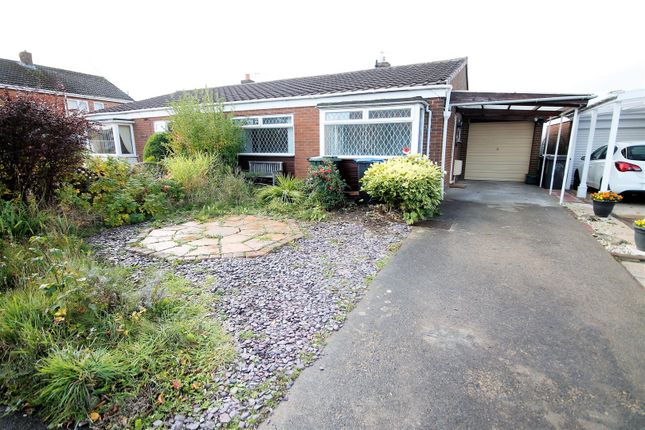 Thumbnail Semi-detached bungalow for sale in The Links, Belmont, Durham