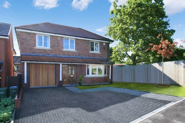 Thumbnail Detached house for sale in Endeavour Close, Warsash, Southampton
