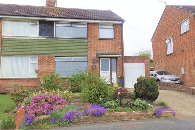 Thumbnail Semi-detached house for sale in Avonmead, Greenmeadow, Swindon
