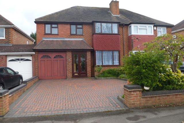 Thumbnail Property to rent in Damson Lane, Solihull