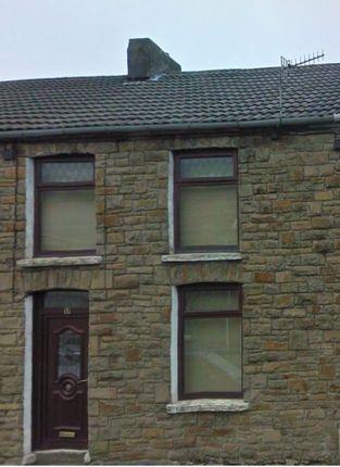 Thumbnail Terraced house to rent in High Street, Pontycymer, Bridgend