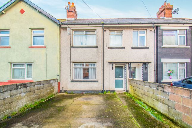 3 bed terraced house for sale in Madoc Road, Tremorfa, Cardiff