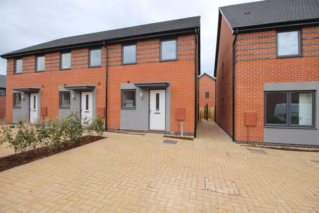 Thumbnail End terrace house to rent in Armlet Row, Exeter