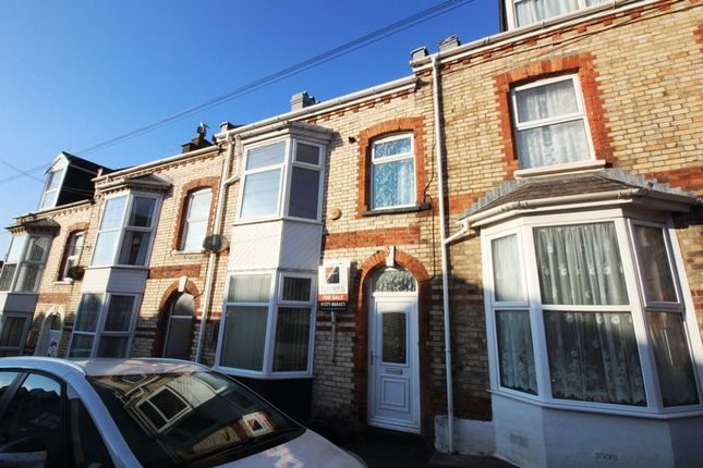 Thumbnail Terraced house for sale in Victoria Road, Ilfracombe