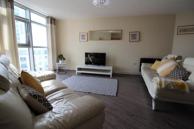 2 bed terraced house to rent in Altolusso Apartments, Bute Terrace, Cardiff CF10