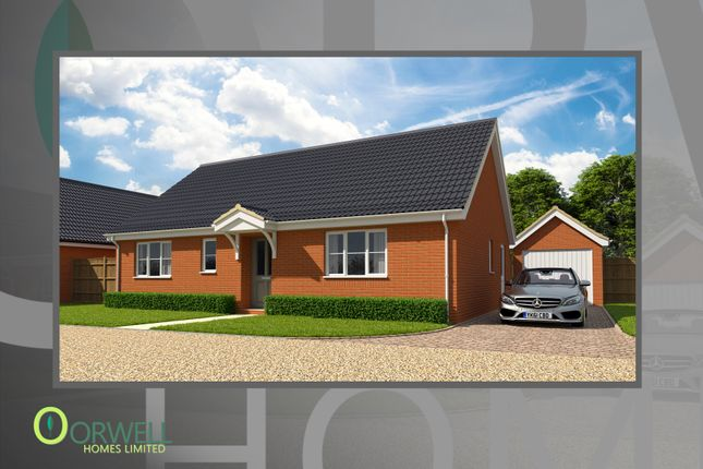 Thumbnail Detached bungalow for sale in Plot 9, 4 Cullingford Close, Laxfield