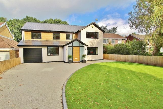 Thumbnail Detached house for sale in Larch Grove, Lisvane, Cardiff