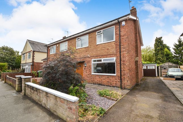 Thumbnail Semi-detached house for sale in Cyril Street, Leicester