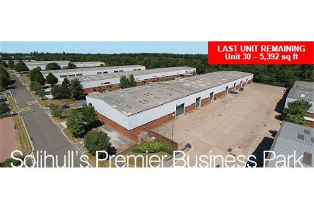 Thumbnail Warehouse to let in Monkspath Business Park, Highlands Road, Shirley, Solihull, West Midlands, England