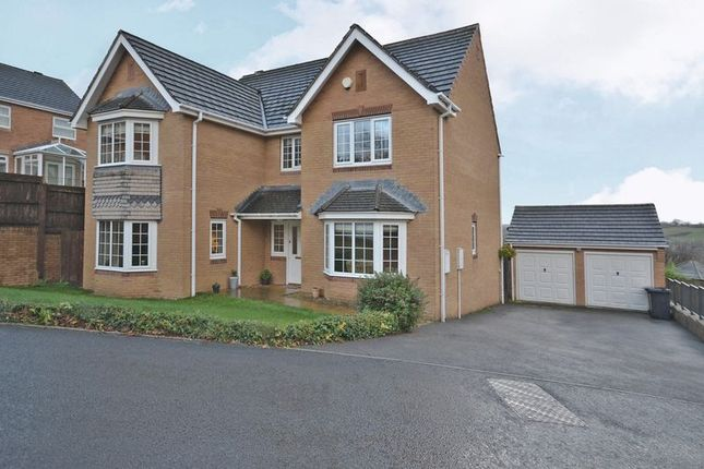Thumbnail Detached house for sale in Exceptional Family House, Great Oaks Park, Newport