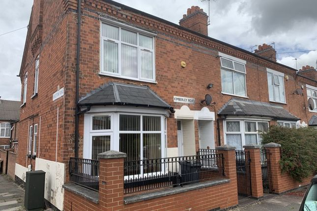 Thumbnail Flat to rent in Kimberley Road, Evington