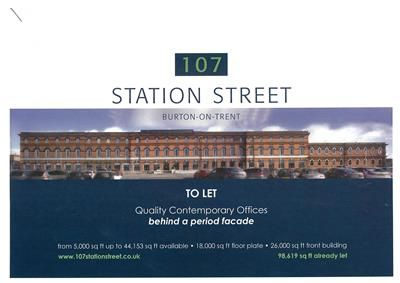 Thumbnail Office to let in 107 Station Street, Burton Upon Trent, Staffordshire