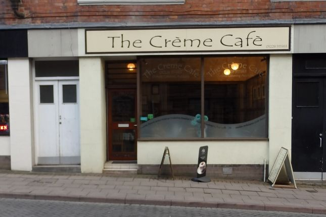 Retail premises for sale in Market Street, 3, Creme Cafe, Carlisle