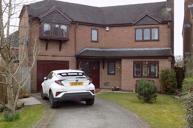Thumbnail Detached house for sale in Milldale Court, Ashbourne