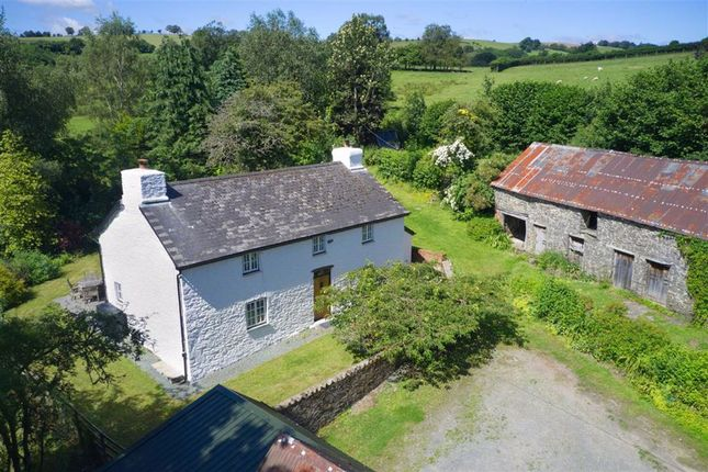 Thumbnail Detached house for sale in Gwenddwr, Builth Wells, Powys