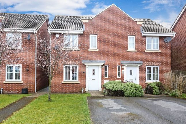 Thumbnail Semi-detached house for sale in Chestnut Grove, Hyde