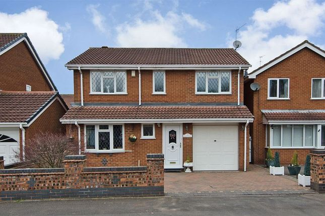 Thumbnail Detached house for sale in Thistledown Drive, Heath Hayes, Cannock