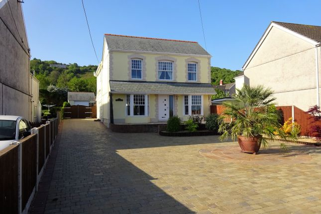4 bed detached house for sale in Tides Reach, West End, Penclawdd, Swansea