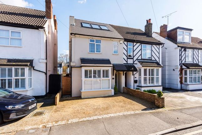 Thumbnail Semi-detached house for sale in Salisbury Road, Bexley