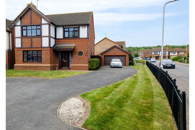 Thumbnail Detached house for sale in Cinnabar Drive, Sittingbourne