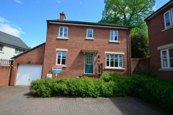 Thumbnail Detached house to rent in Tidcombe Walk, Tiverton