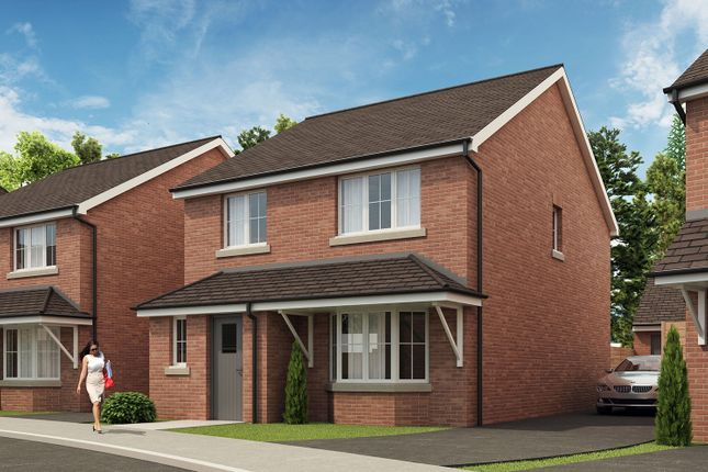 Thumbnail Detached house for sale in St Dominic's Place, Hartshill Road, Stoke-On-Trent