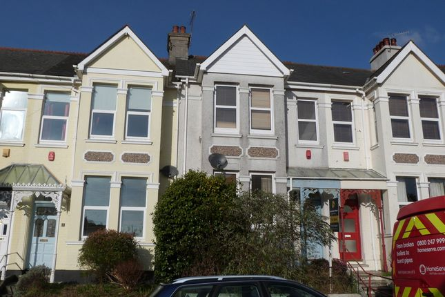 Thumbnail Terraced house for sale in Elphinstone Road, Plymouth