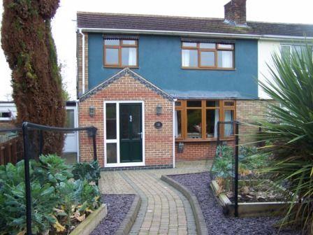Thumbnail Semi-detached house for sale in Welland Avenue, Gartree, Market Harborough