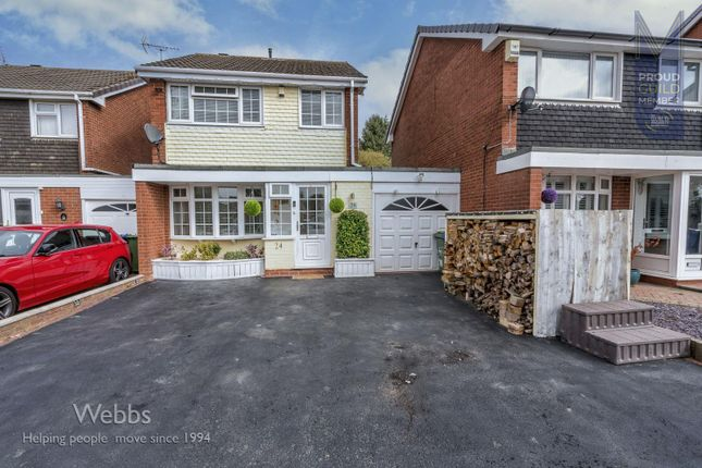 3 bed detached house for sale in Hussey Road, Norton Canes, Cannock WS11