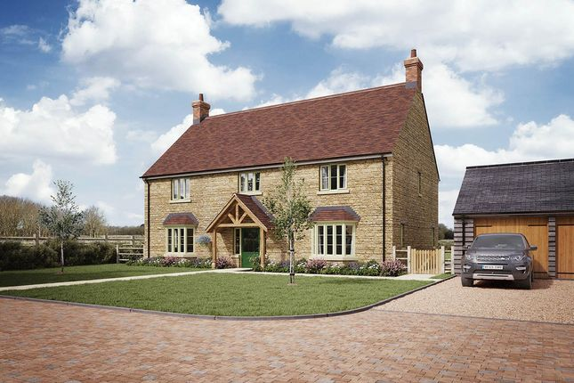 Thumbnail Detached house for sale in Foxcott, Latton, Swindon