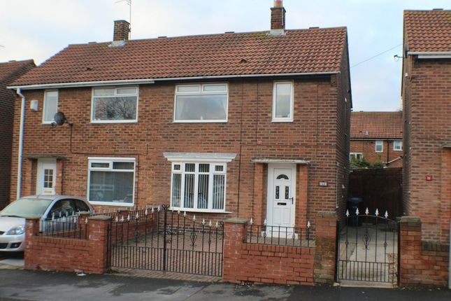 Thumbnail Semi-detached house to rent in Derwent Close, Seaham