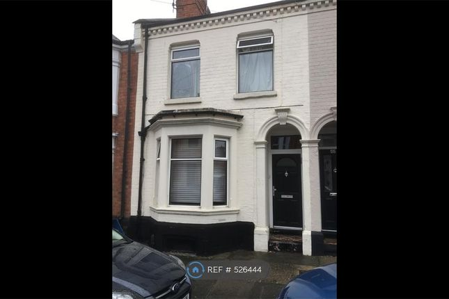 Thumbnail Terraced house to rent in Derby Road, Northampton