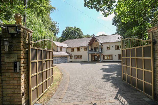 Thumbnail Detached house for sale in Roman Road, Little Aston, Sutton Coldfield