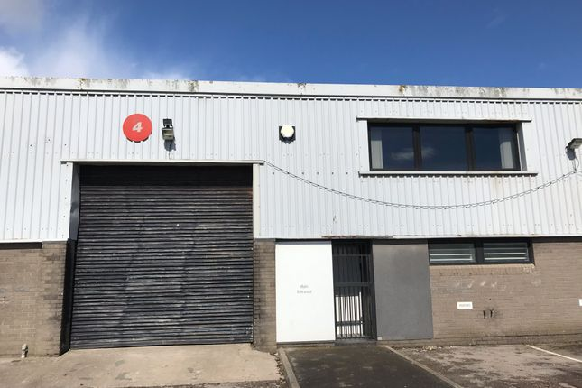Thumbnail Industrial to let in Unit 4, Ty Verlon Industrial Estate, Barry