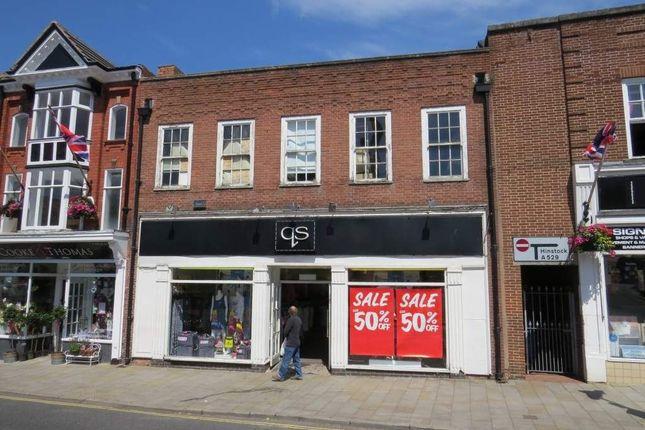 Thumbnail Retail premises to let in 4-5 High Street, Market Drayton, Shropshire