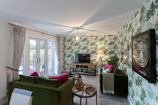 Thumbnail Semi-detached house for sale in The Cowslip, Popeswood Grange, London, Binfield, Berkshire