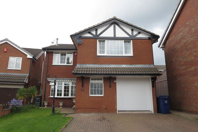 Thumbnail Detached house for sale in Sterndale Drive, Westbury Park, Newcastle