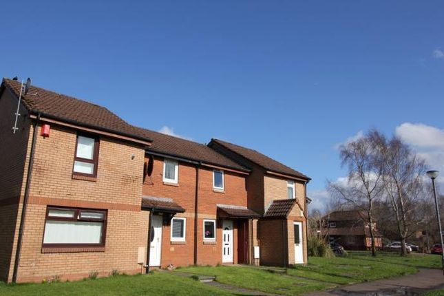 Thumbnail End terrace house to rent in Langford Drive, Glasgow