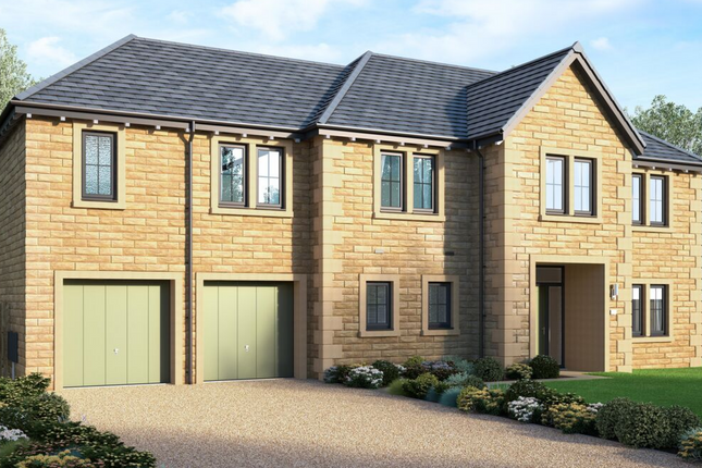 "Thumbnail Detached house for sale in ""The Marsham"" at Norwood Avenue, Menston, Ilkley"