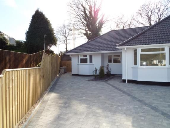 Thumbnail Bungalow for sale in Hamble Road, Parkstone, Poole