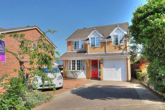 Thumbnail Detached house for sale in Hazel Close, Norwich