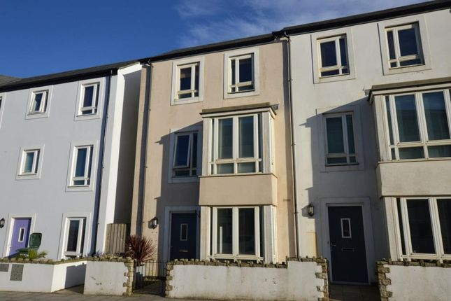 Thumbnail Terraced house for sale in Kerrier Way, Camborne, Cornwall