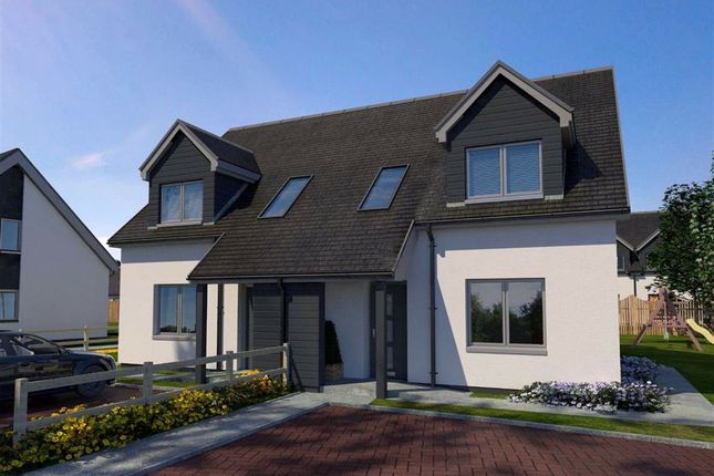 Thumbnail Semi-detached house for sale in The Mingulay, Glenfield Development, North Road, Ullapool