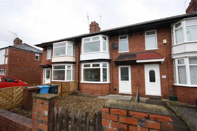 Thumbnail Terraced house to rent in Louis Drive, Hull
