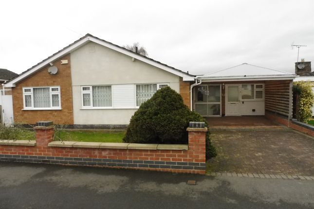 Thumbnail Detached bungalow for sale in Highland Avenue, Kirby Muxloe, Leicester
