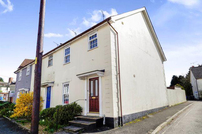 Thumbnail End terrace house for sale in Dorchester Road, Maiden Newton, Dorchester