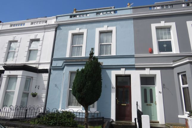 Thumbnail Terraced house for sale in Sea View Terrace, Lipson, Plymouth